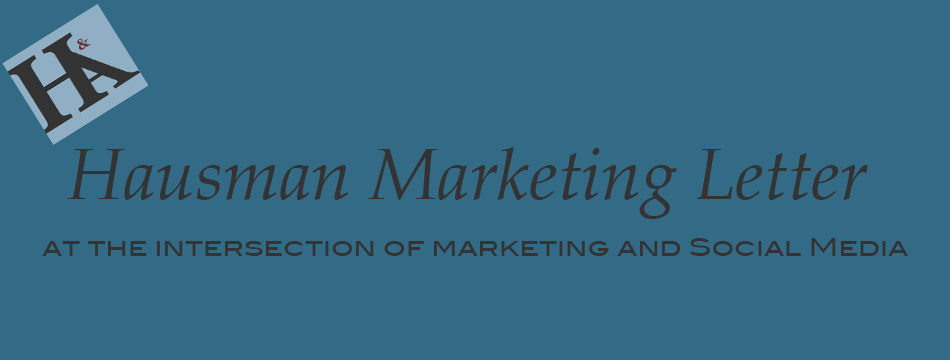 hausman marketing letter